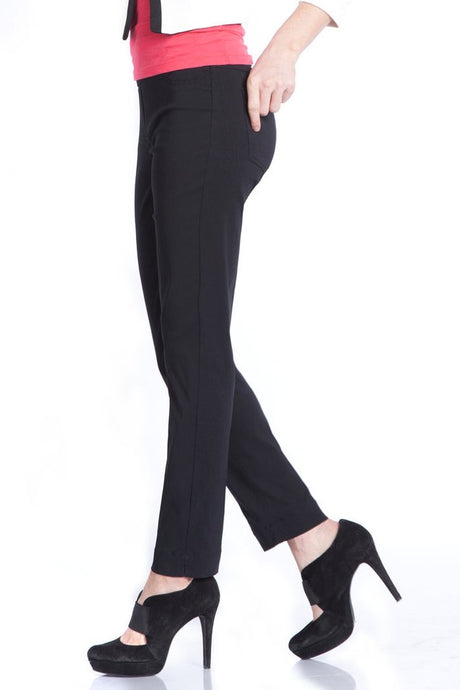 Slimsation black ankle pants