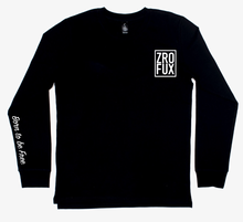 Load image into Gallery viewer, Freedom 2.0 Long Sleeve Tee - Black (Unisex)