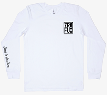 Load image into Gallery viewer, Freedom 2.0 Long Sleeve Tee - White (Unisex)