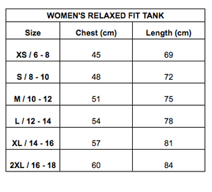 Women's Staunch Tank Relaxed Fit - Coal