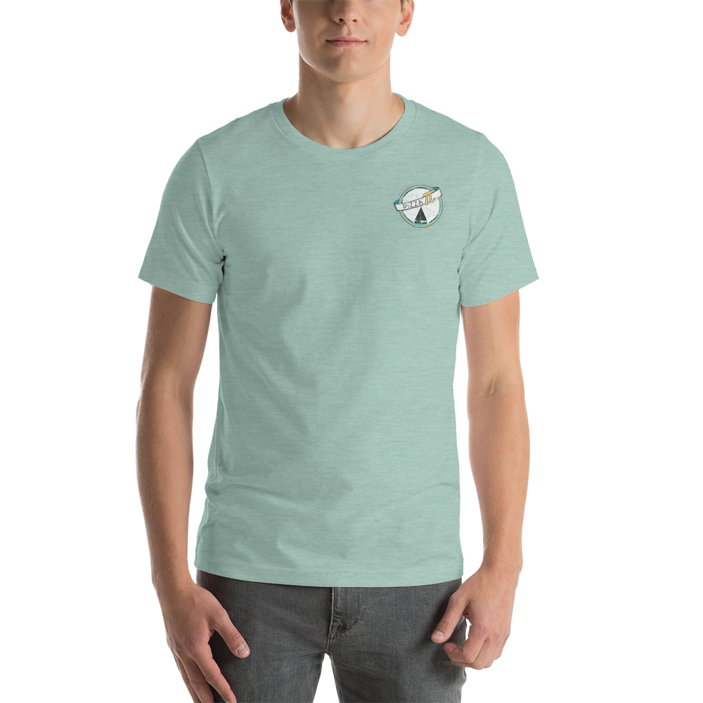 Pizza Pi Vintage Photo Short-Sleeve Unisex T-Shirt