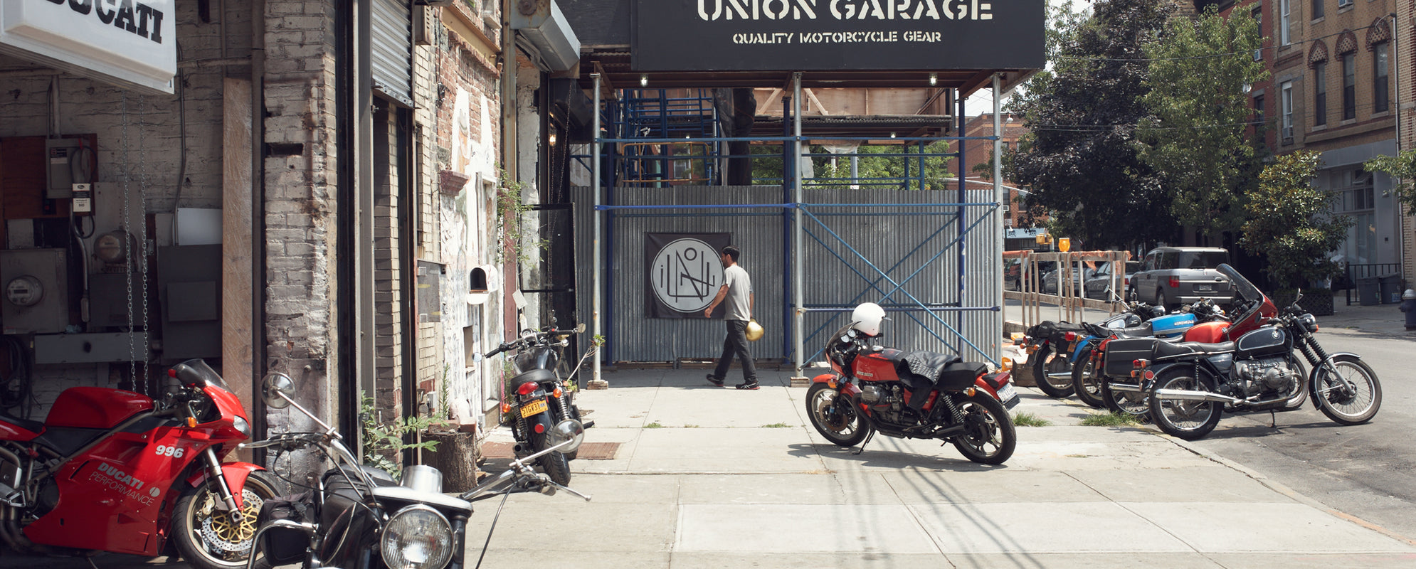 Union Garage: On the Map