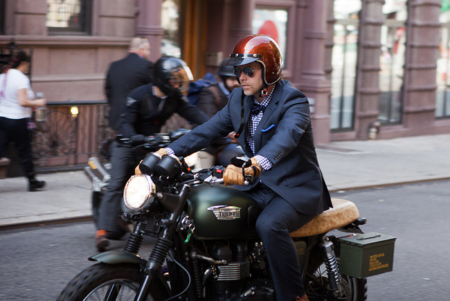 Video: Distinguished Gentleman's Ride NYC