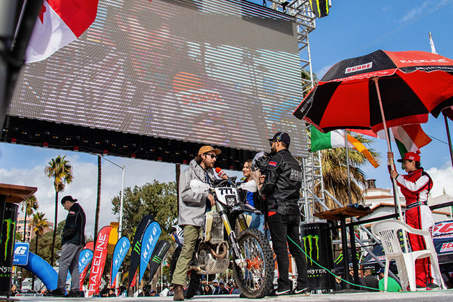 At the Baja 1000 with Union Garage Sponsored Rider Dave Dunn