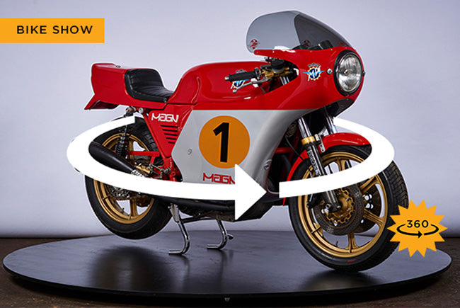 Interactive Motorcycle Show: 70's Italian Sporting Bikes