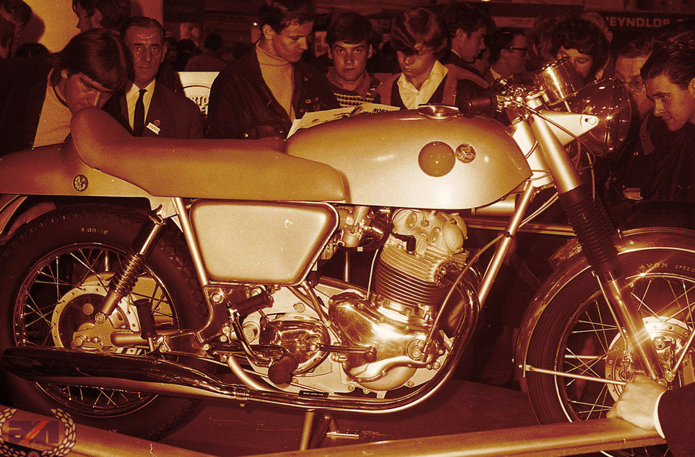 The 1967 debut of the Commando at the Earl's Court Motorcycle Show in London