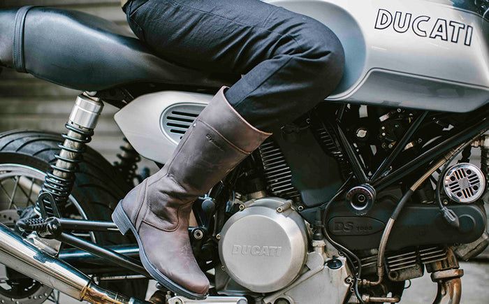 Stylmartin Sharon boots and Kevlar-lined denim from Alpinestars