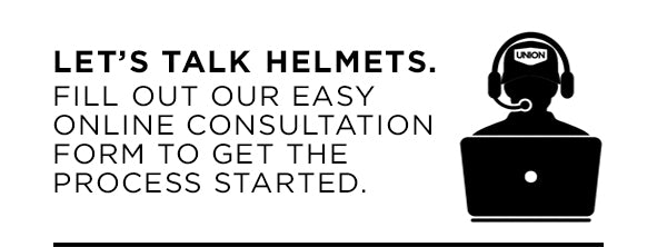 Fill out our Helmet Consult Form to get started