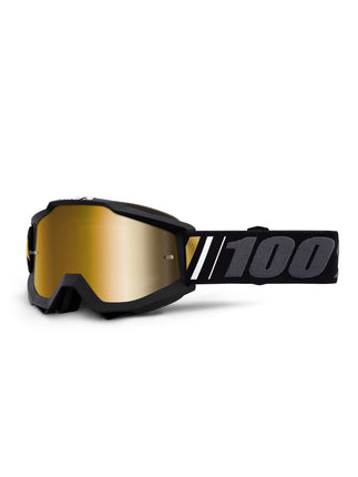 100 Percent Accuri Goggles - Black Gold