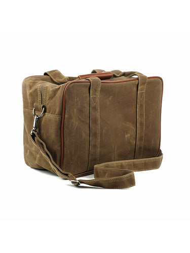 Acme Moto 33L Waxed Canvas Traveler Bag