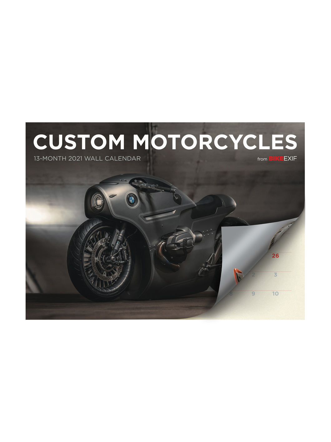 Bike Exif Custom Motorcycle 2021 Calendar