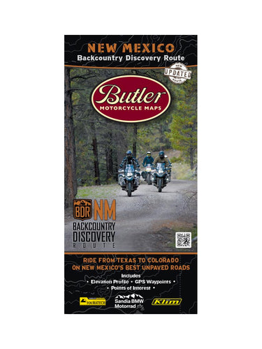 Butler New Mexico BDR Map