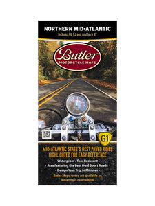Butler Northern Mid-Atlantic G1 Map