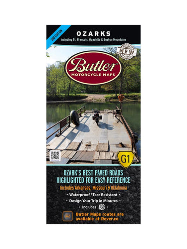 Butler Ozarks G1 Map