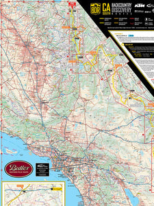 Butler Southern California BDR Map