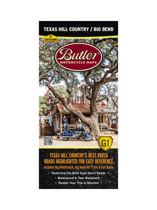 Butler Texas Hill Country/Big Bend NP G1 Map