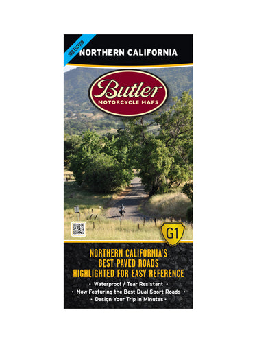 Butler Northern California G1 Map