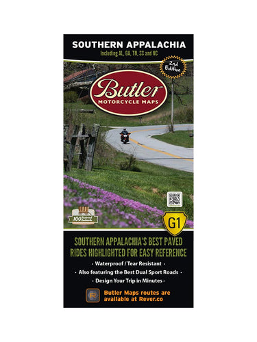 Butler Southern Appalachia G1 Map