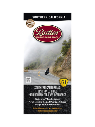 Butler Southern California G1 Map