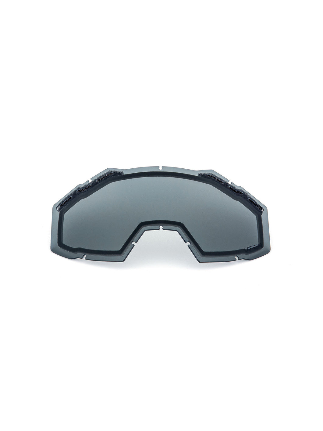 Klim Replacement Goggle Double-layer Lens - Smoke Polarized