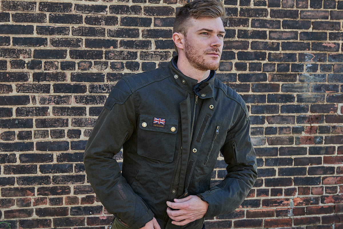 Merlin Stafford Wax Jacket