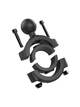 "Load image into Gallery viewer, RAM Mount Fat Bar Clamp Ball Mount  1 1/8""-1 1/2"""