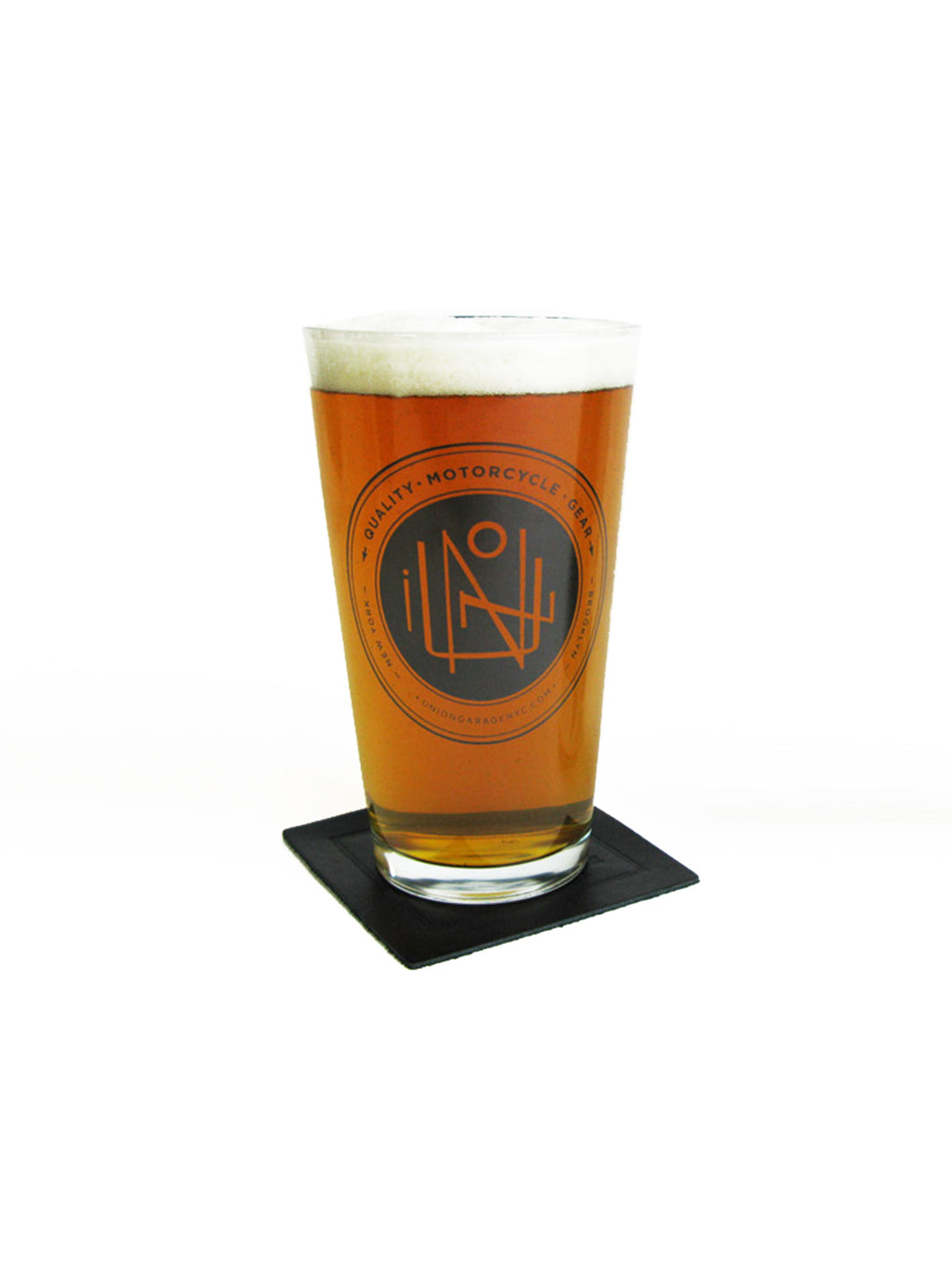 Union Garage Pint Glass