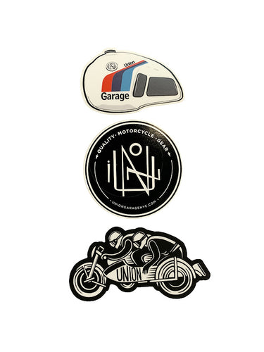 Union Garage Sticker Pack