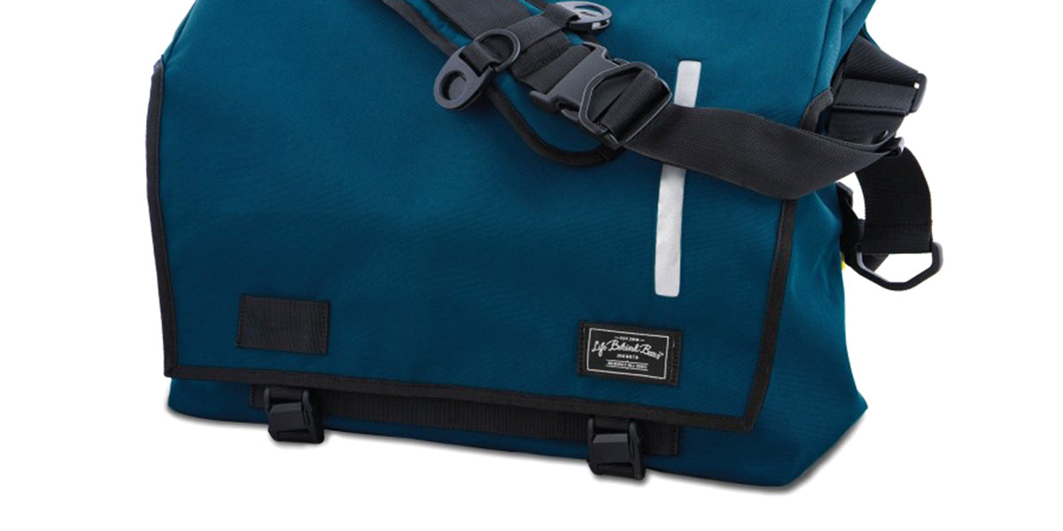 Life Behind Bars Echelon Messenger Bag