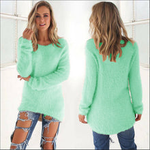 Load image into Gallery viewer, Women's O-Neck Sweater