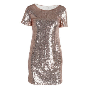 Women Sexy Short T Shirt Dress