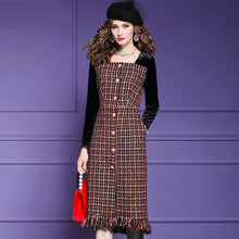 Load image into Gallery viewer, Full sleeve Retro Women Party Dress