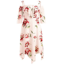 Load image into Gallery viewer, Feitong Fashion Women Dress Off Shoulder