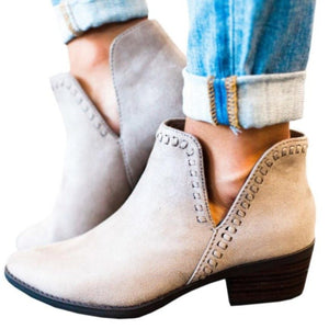 Winter Vintage Women Boots Slip