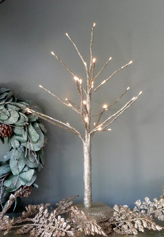 Champagne LED Tree