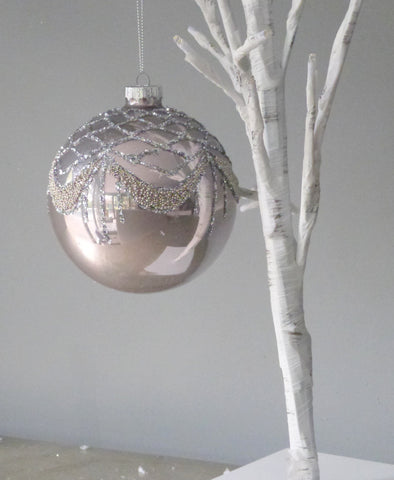 Glitter Bead Bauble