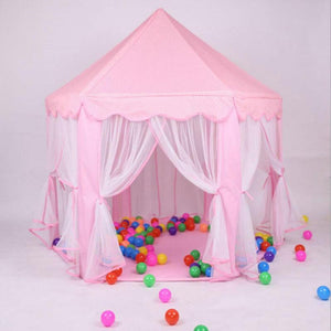 Portable Detachable Princess Castle Play House Large Outdoor Children Kids Girls Playing Tent