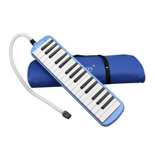 IRIN 32 Keys Melodica Children Students Musical Instrument Harmonica Blowpipe Mouth Organ Portable Harmonica Pianica Hot