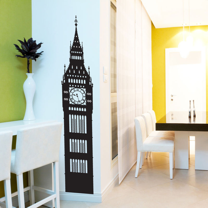 Big Ben London Wall Window Stickers Decals Vinyl Home Decor Colourful A144