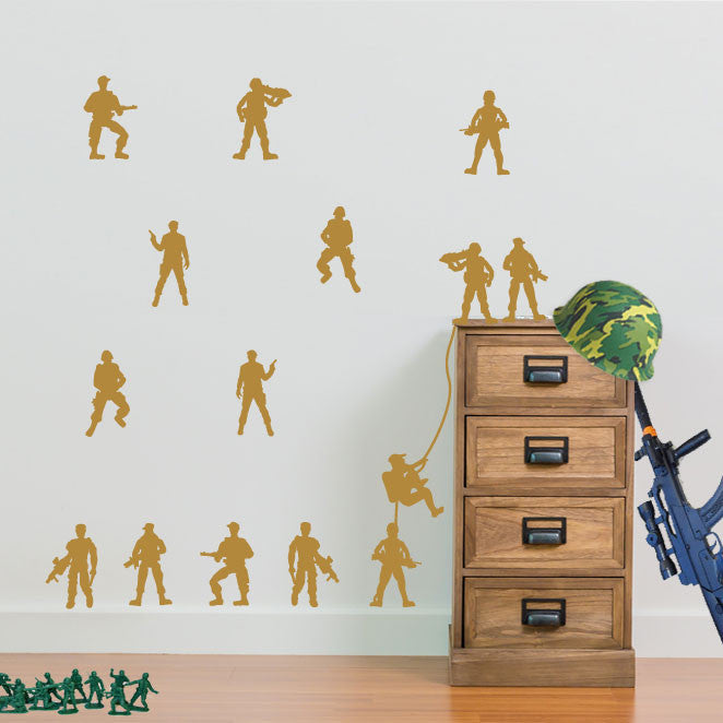 Military Soldiers Army Men Pack of 15 - A1