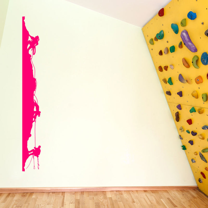 Climbers Climbing Men Wall Window Stickers Decals Fun Kids Decor Vinyl A129