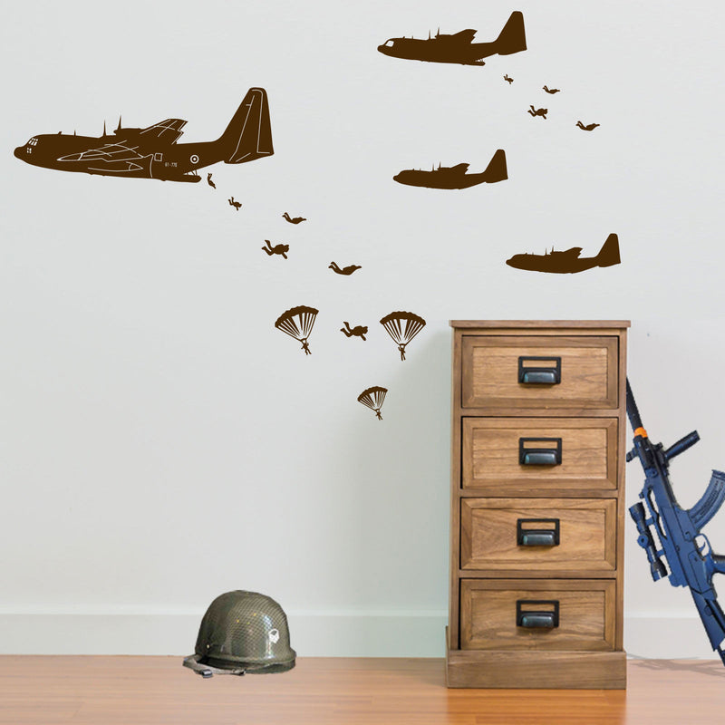 Army Wall Stickers | Army Wall Stickers | Vinyl Concept