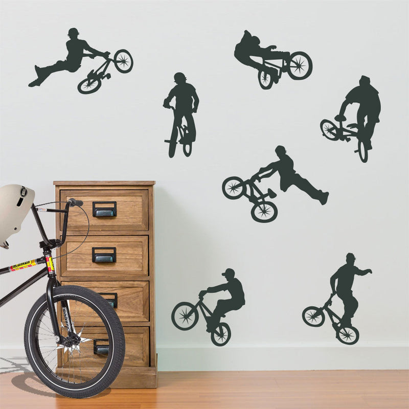 BMX Children's Wall Stickers A15