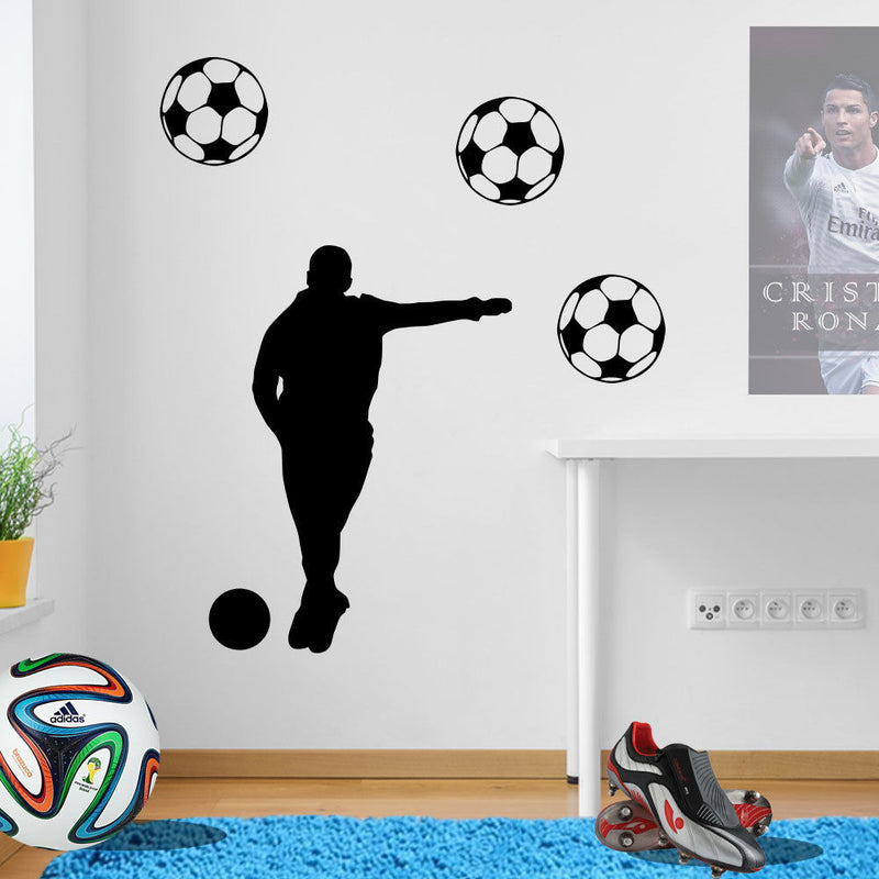 Posing Football Player A70