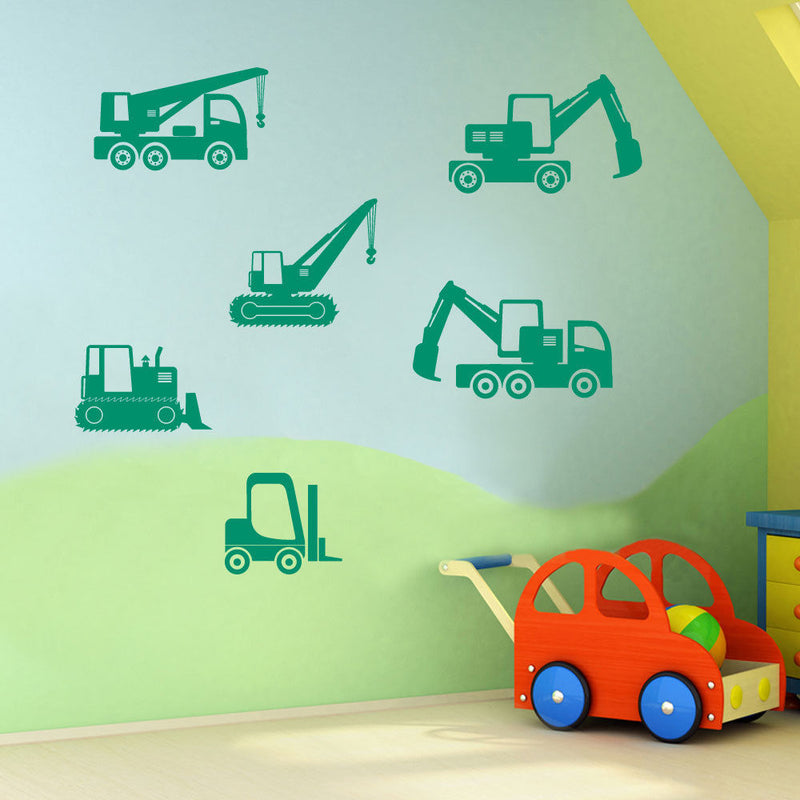 Children's Construction Sticker Set A58
