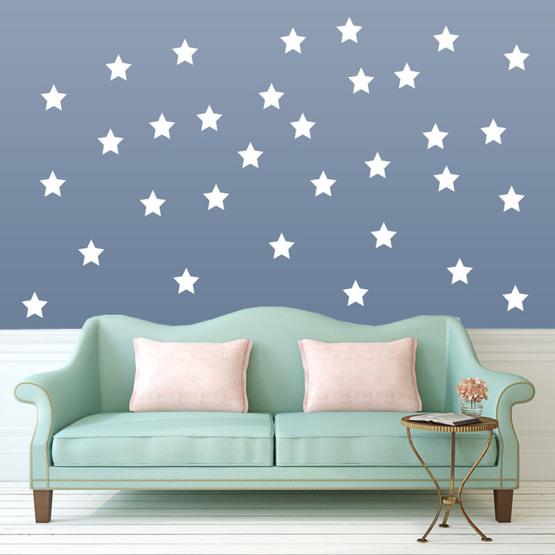 Stars Pack Decals A4