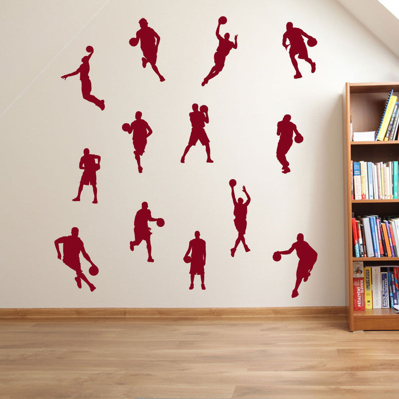 Basketball Players Stickers A34