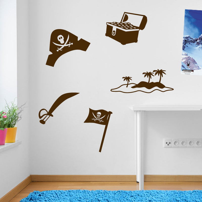 Assorted Pirate Stickers A52