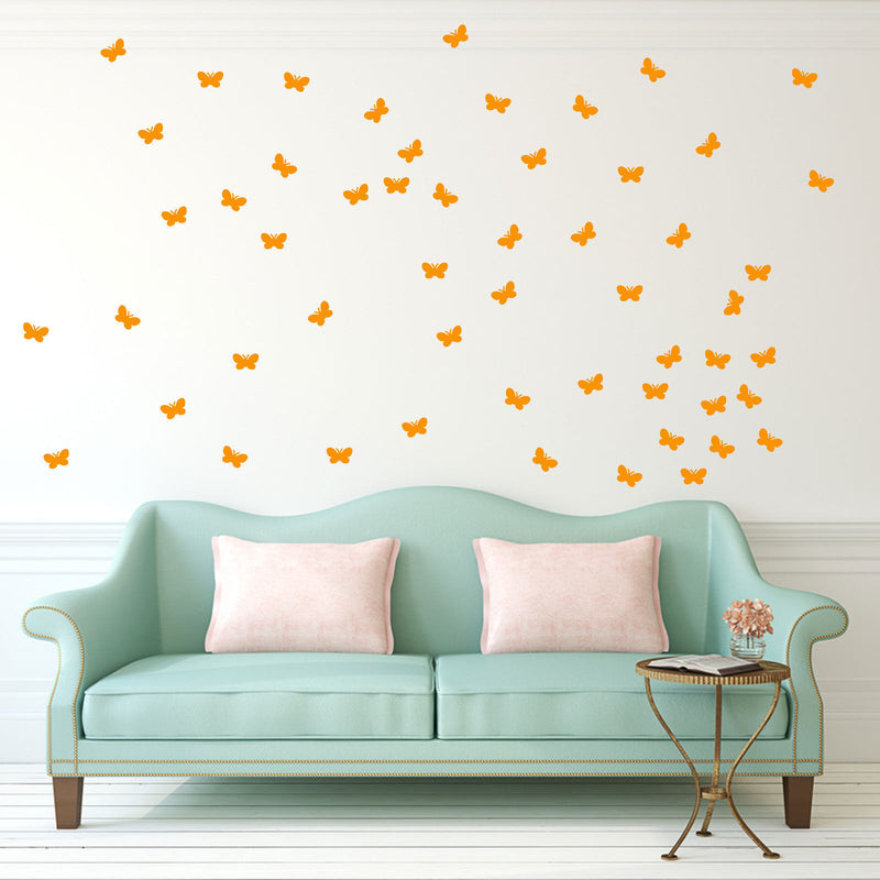 Butterfly Decorative Stickers A3