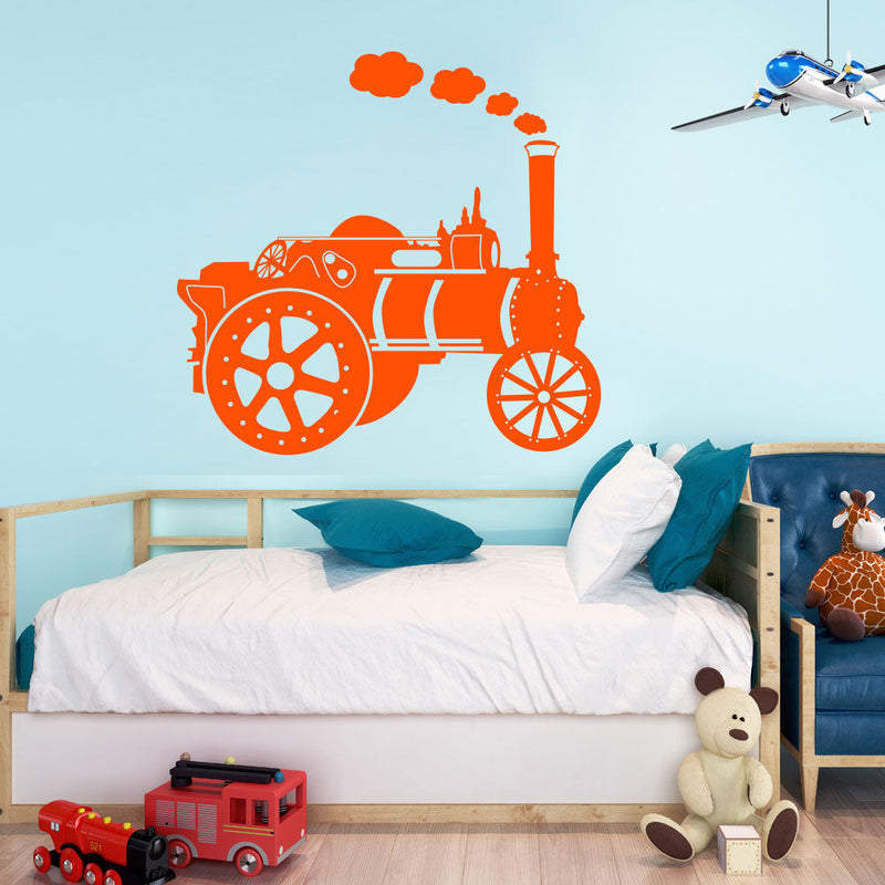 Traction Train Wall Sticker A83